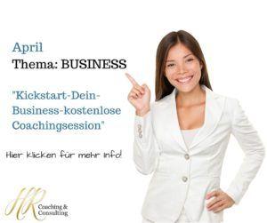 April business