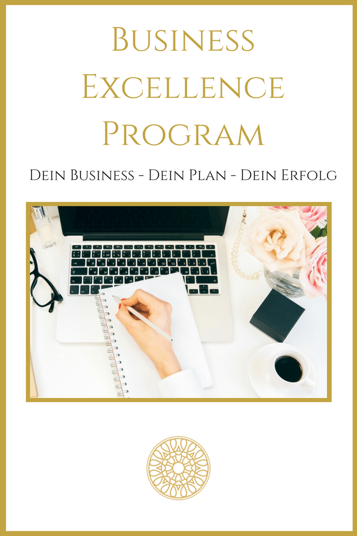 Business Excellence Onlinekurs: Dein Business - Dein Plan - Dein Erfolg